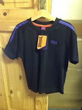 BNWT Boys Lonsdale T-Shirt 3-4 Years Black Kids Childrens Clothes Top