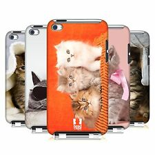 HEAD CASE DESIGNS CATS CASE COVER FOR APPLE iPOD TOUCH 4G 4TH GEN