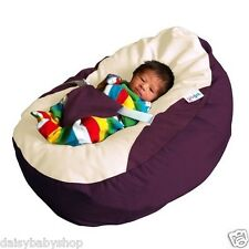 Gaga Baby Bean Bags Pre-filled w/ Adjustable Harness, Available in 4 Colours
