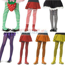 Striped Tights Girls Child Costume Dance Assorted Sizes & Color Leg Avenue 4710