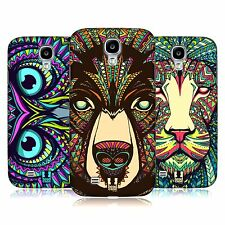 HEAD CASE DESIGNS AZTEC ANIMAL FACES CASE COVER FOR SAMSUNG GALAXY S4 I9500