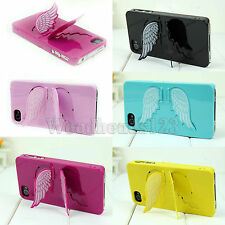 New The Wings Of an Angel Stents Case Cover for iphone4 4s 5 5s ice Cream Color