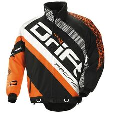 Drift Racing 2014 Men's Drift Racing Jacket - Orange and Black - 5245-34_
