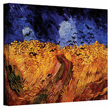 VanGogh 'Wheatfield with Crows' Wrapped Canvas Art