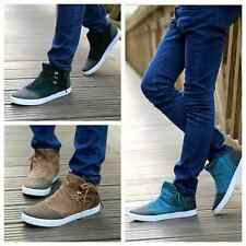 new style Swede Leather Men's casual board shoes Lace-up shoes BM74