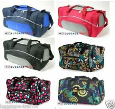 Ladies floral holdall, weekend bag sports grip bag - convenient fashionable bag