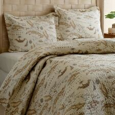Tommy Bahama Map 3-piece Quilt Set