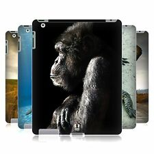 HEAD CASE WILDLIFE PROTECTIVE SNAP-ON HARD BACK CASE COVER FOR APPLE iPAD 2