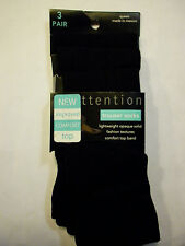 TROUSER SOCKS QUEEN 10 - 12   from Kmart  3 PACK   Opaque