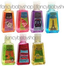 Bath & Body Works Brand New City Collection Hand Gel Pocketbacs-Choose the Scent