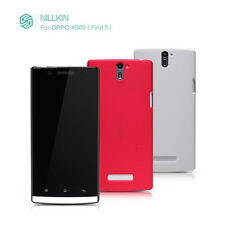 Nillkin Fashion PU Side Flip Leather Case Cover + LCD Guard For OPPO Find 5 X909