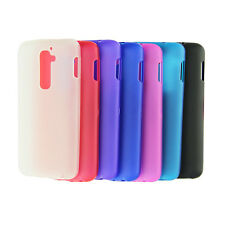 Hot sale Matte TPU Silicone Gel Back Case Cover For LG G2 D802