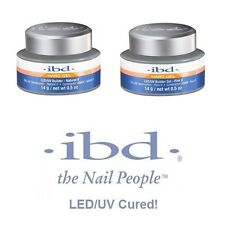 ibd LED/UV Cured Builder Gel & Clear Gel (All Sizes & Colors Available)