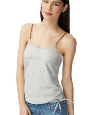 Aeropostale Solid Side Tie Cami Lace Tank Top Sexy Aero Blouse Sexy Womens Shirt