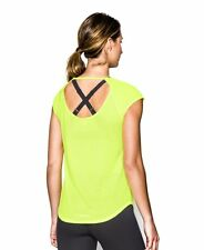 Women's  Under Armour Fly-By Short Sleeve