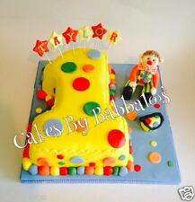 Mr Tumble Cake Topper - Cbeebies - Justin Fletcher - Made to Order
