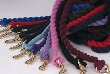 Cotton lead rope ( horse pony equestrian )