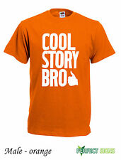 COOL STORY BRO TELL IT AGAIN MENS OFWGKTA WOMENS T-SHIRT S-2XL - Orange II