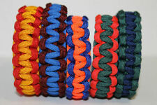 NHL Inspired Western Conference Team Colors Paracord Bracelets Custom Fit Hockey