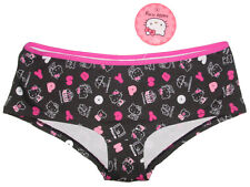 "NWT SANRIO HELLO KITTY PICNIC BOYSHORT PANTY UNDERWEAR GIFTS M (26""-28"")"