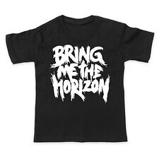 BRING ME THE HORIZON BMTH - ROCK METAL MUSIC BAND - Boys Girls Kids T-Shirt