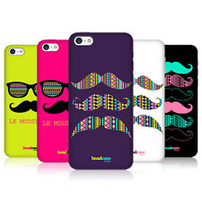 Funda HEAD CASE DESIGNS Bigote Serie 2 Snap-on posterior Funda Para Iphone 5c De Apple