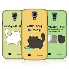 HEAD CASE CEILING CAT VS BASEMENT CAT HARD BACK CASE FOR SAMSUNG GALAXY S4 I9500