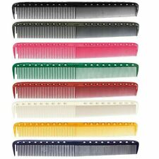 "YS Park 335 Fine Cutting Comb (Extra Long)  7.3"" - ALL COLORS"