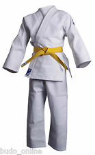 Adidas Judo Suit 'Club' Uniform Mens Ladies White Gi Single Weave New J350