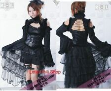 Cosplay Visual PUNK Kera Dragon Cyber Kimono Sleeve JACKET + Lace train S~XL