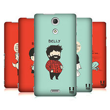 HEAD CASE LOVE STRUCK PROTECTIVE SNAP-ON HARD BACK CASE COVER FOR SONY XPERIA ZR