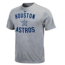 Houston Astros Majestic MLB Authentic Edge Gray T-Shirt