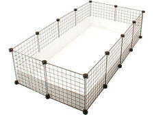 NEW Cube & Coroplast Guinea Pig Cage 2x4 Grid C&C - Large