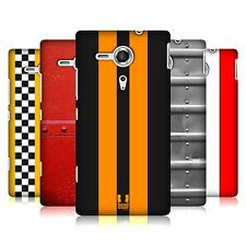 HEAD CASE TRANSPORT PAINTS PROTECTIVE BACK CASE COVER FOR SONY XPERIA SP C5303