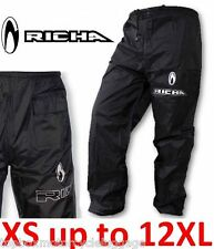 Richa 100% Waterproof Over trousers Motorcycle Fishing Walking Golf Cycling