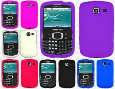 For Samsung Comment 2 R390c Rubber SILICONE Soft Gel Skin Case Phone Cover