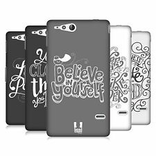 HEAD CASE DESIGNS HAND DRAWN TYPOGRAPHY CASE COVER FOR SONY XPERIA GO ST27i