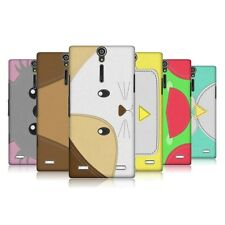 HEAD CASE DESIGNS ANIMAL PATCHES SERIES 1 CASE COVER FOR SONY XPERIA S LT26i