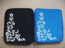 FLOWER NEOPRENE SLEEVE CASE POUCH COVER FOR iPAD 2/3/4 & iPAD AIR (2013 Release)