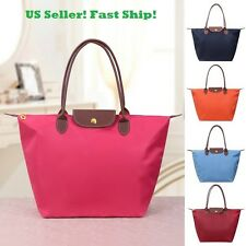 New Hot Sale PU Leather Tote Shopping Bag Folderble Beach Shoulder Handbag