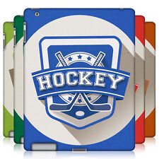 HEAD CASE SPORTS BADGE PROTECTIVE SNAP-ON HARD BACK CASE COVER FOR APPLE iPAD 2