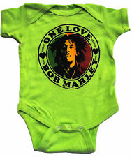 Bob Marley One Love Official Licensed Authentic Infant Baby Toddler One Piece