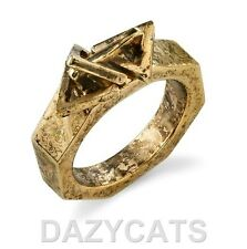 Low Luv Erin Wasson 14kt yellow gold plated Triangle ring