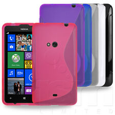 SLIM FITTED S-LINE HYDRO GEL SKIN CASE COVER FOR NOKIA LUMIA 625 MOBILE PHONE