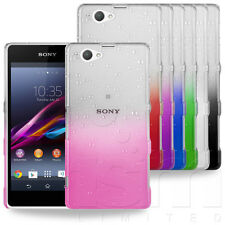 ULTRA SLIM RAINDROP CRYSTAL HARD CASE COVER FOR SONY XPERIA Z1 COMPACT PHONE