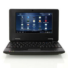 "4GB Mini Notebook VIA8850 7"" Google Android 4.0 Camera Wi-Fi HDMI Laptop Netbook"