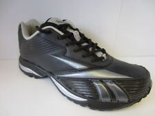 REEBOK 'Winning Stride' Men's Black/Silver Lace Up Running Trainers