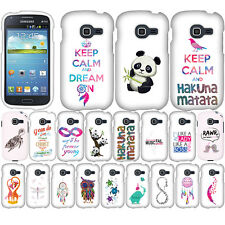 For Samsung Galaxy Discover S730G Centura S738C Turtle Snap On HARD Case Cover