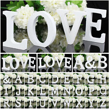 Freestanding Craft Wood Wooden Letters Bridal Wedding Decor Birthday Decorations