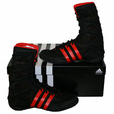 ADIDAS ADIPOWER BLACK WITH RED MEN'S BOXING SHOES BOOTS